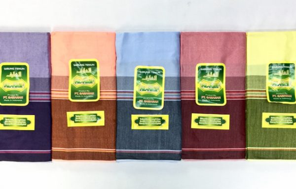 Cheap Cotton lungi with Large Lines Design by Al Arif