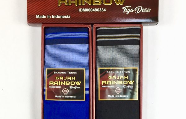 Cheap Cotton Sarong For Men with Horizontal Lines Design
