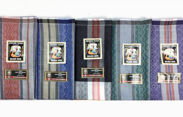 Cheap Lungi Sarong With Dobby Fabric And Art Lines Design