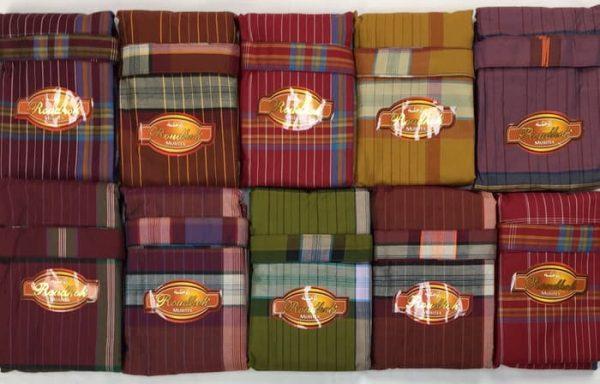 Checkered Lungi Sarong Pants Wholesale Price